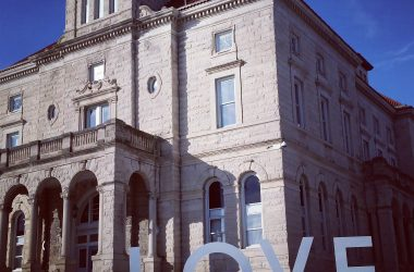Court Square Love Sign