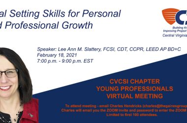 Young Professionals meeting February 2020